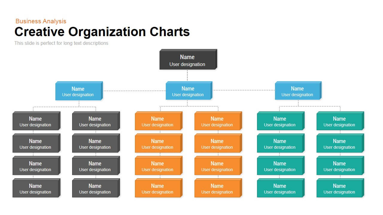 Creative Organization Chart Template For Powerpoint And Within Microsoft Powerpoint Org Chart Template