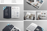 Creative Portfolio Brochure Indd | Indesign Brochure inside Adobe Indesign Brochure Templates