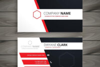 Creative Visit Card Template Vector Design Illustration pertaining to Designer Visiting Cards Templates