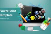 Creative Web Design Powerpoint Template inside Multimedia Powerpoint Templates