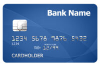 Credit Card Template | Psdgraphics within Credit Card Template For Kids