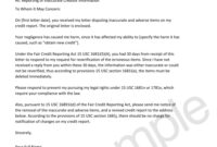 Credit Cleanup Tools — Home Of The Credit Cleanup Newsletter with regard to Credit Report Dispute Letter Template
