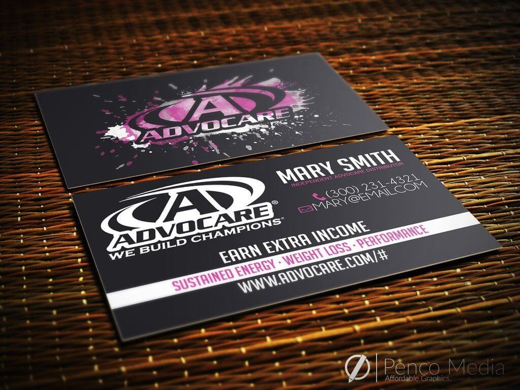 Custom Advocare Business Card Design #6 | Business Card Intended For Advocare Business Card Template
