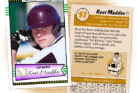 Custom Baseball Cards – Retro 50™ Series Starr Cards intended for Custom Baseball Cards Template