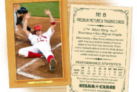 Custom Baseball Cards – Vintage 11™ Series Starr Cards within Custom Baseball Cards Template