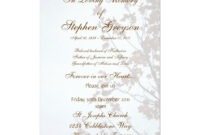"Custom Funeral Or Memorial Service Announcement 5"" X 7 pertaining to Funeral Invitation Card Template"