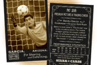 Custom Soccer Cards – Vintage 95™ Series Starr Cards pertaining to Soccer Trading Card Template