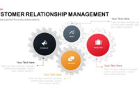 Customer Relationship Management Powerpoint Template intended for Where Are Powerpoint Templates Stored