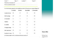 Customer Satisfaction Survey. A Virtual Assistant Can Create Within Questionnaire Design Template Word