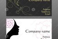 Cute Hair Stylist Business Cards – Busi with Hair Salon Business Card Template