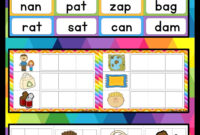 Cvc Words Activities | Cvc Words, Activities, Words pertaining to Making Words Template