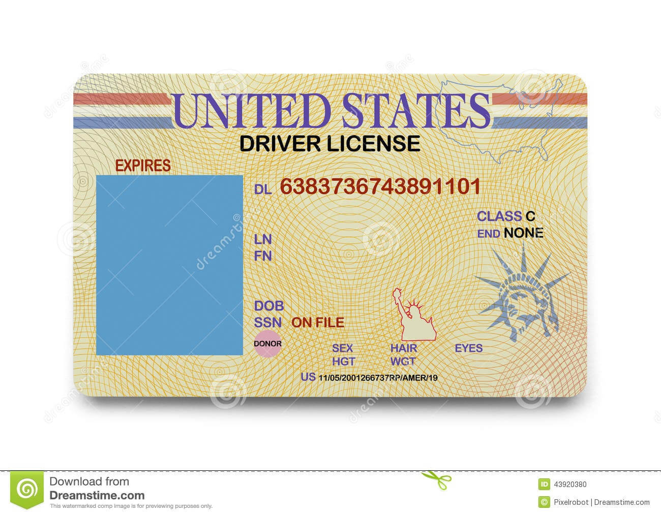D9Bf2 California Drivers License Template | California Throughout Blank Drivers License Template