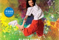 Dance Camp Flyer Free Psd Template | Psddaddy regarding Dance Flyer Template Word