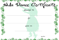 Dance Certificate | Templates At Allbusinesstemplates in Dance Certificate Template