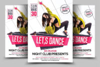 Dance Flyer #design#free#professional#adobe | Templates Intended For Dance Flyer Template Word