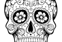 Day Of The Dead Blank Template – Imgflip inside Blank Sugar Skull Template
