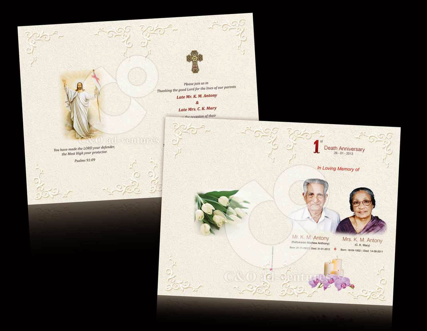 Death Anniversary Cards Templates ] - Card Templates Free Regarding Death Anniversary Cards Templates