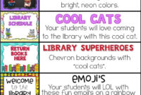 Decorate Your School Library With One Of These Bulletin pertaining to Bulletin Board Template Word