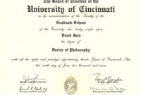 Degree Certificate Degree Certificates Welcome Fake within Masters Degree Certificate Template