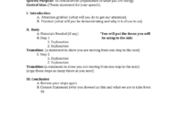 Demonstrative Speech Outline – Zimer.bwong.co regarding Speech Outline Template Word