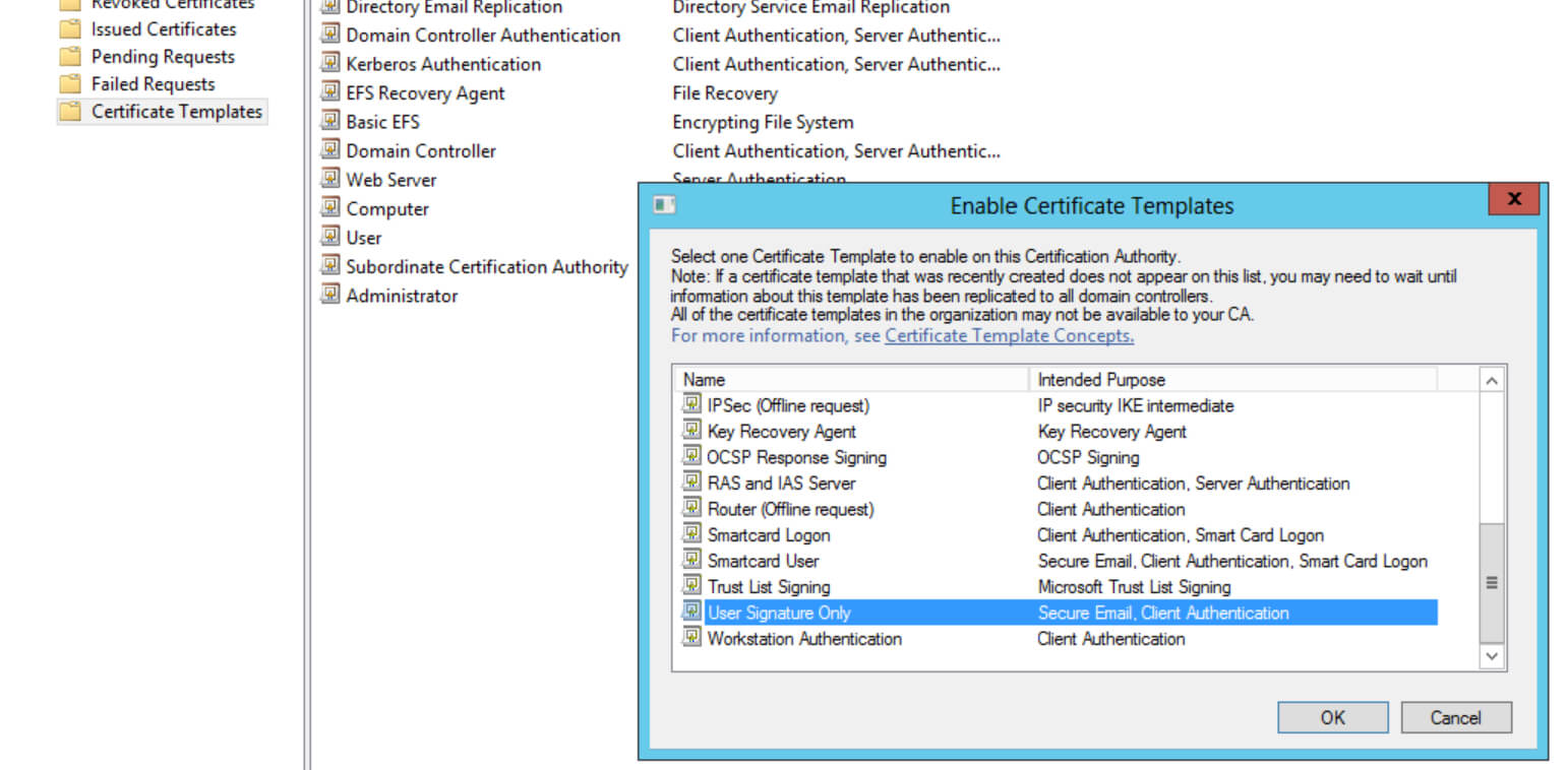 Deploying 8021.x Eap Tls With Polycom Vvx Phones Part 2/2 Inside Workstation Authentication Certificate Template