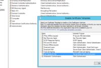 Deploying 8021.x Eap-Tls With Polycom Vvx Phones Part 2/2 regarding Domain Controller Certificate Template