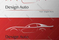 Design Car With Business Card Template for Automotive Business Card Templates