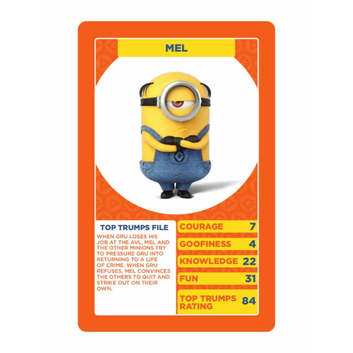 Details About Despicable Me 3 Top Trumps Card Game Inside Top Trump Card Template