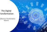 Digital Transformation Patterns Powerpoint Templates Pertaining To Powerpoint Templates For Technology Presentations