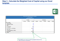 Discounted Cash Flow Analysis Example | Dcf Model Template within Stock Analysis Report Template