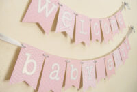 Diy Baby Shower Banner Template 7 Best Samples Templates intended for Diy Baby Shower Banner Template