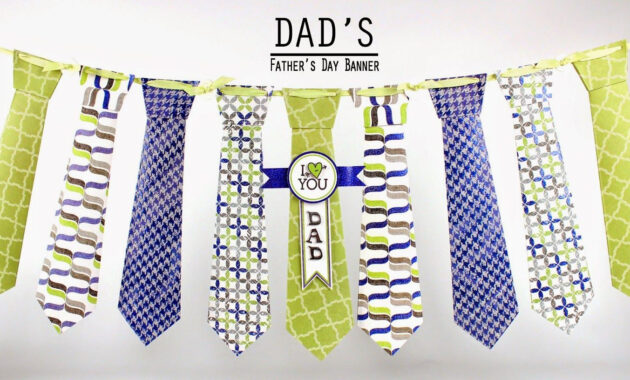 Diy Cupcake Holders | Fathers Day Banner, Fathers Day, Banner in Tie Banner Template