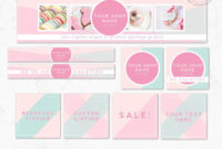 Diy Editable Etsy Shop Graphic Bundle Kit   Etsy Banner throughout Free Etsy Banner Template