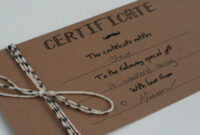Diy Gift Certificates Template – Google Search | Gift inside Homemade Gift Certificate Template