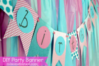 Diy Party Banner Template – Forza.mbiconsultingltd inside Diy Party Banner Template