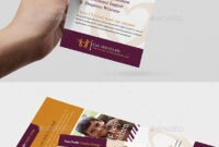 Dl Card Template Graphics, Designs & Templates From Graphicriver in Dl Card Template