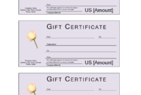 Donation Gift Certificate   Templates At Allbusinesstemplates pertaining to Donation Certificate Template