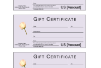 Donation Gift Certificate | Templates At Allbusinesstemplates throughout Company Gift Certificate Template