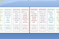 Double Sided Bookmark Template Free – Google Search inside Free Blank Bookmark Templates To Print