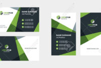 Double-Sided Creative Business Card Template. Portrait And Landscape.. with regard to Landscaping Business Card Template