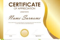 Download Certificate Of Appreciation – Forza pertaining to Certificate Of Excellence Template Free Download