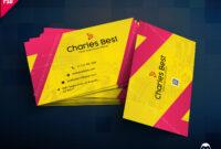 Download] Creative Business Card Free Psd   Psddaddy regarding Calling Card Psd Template