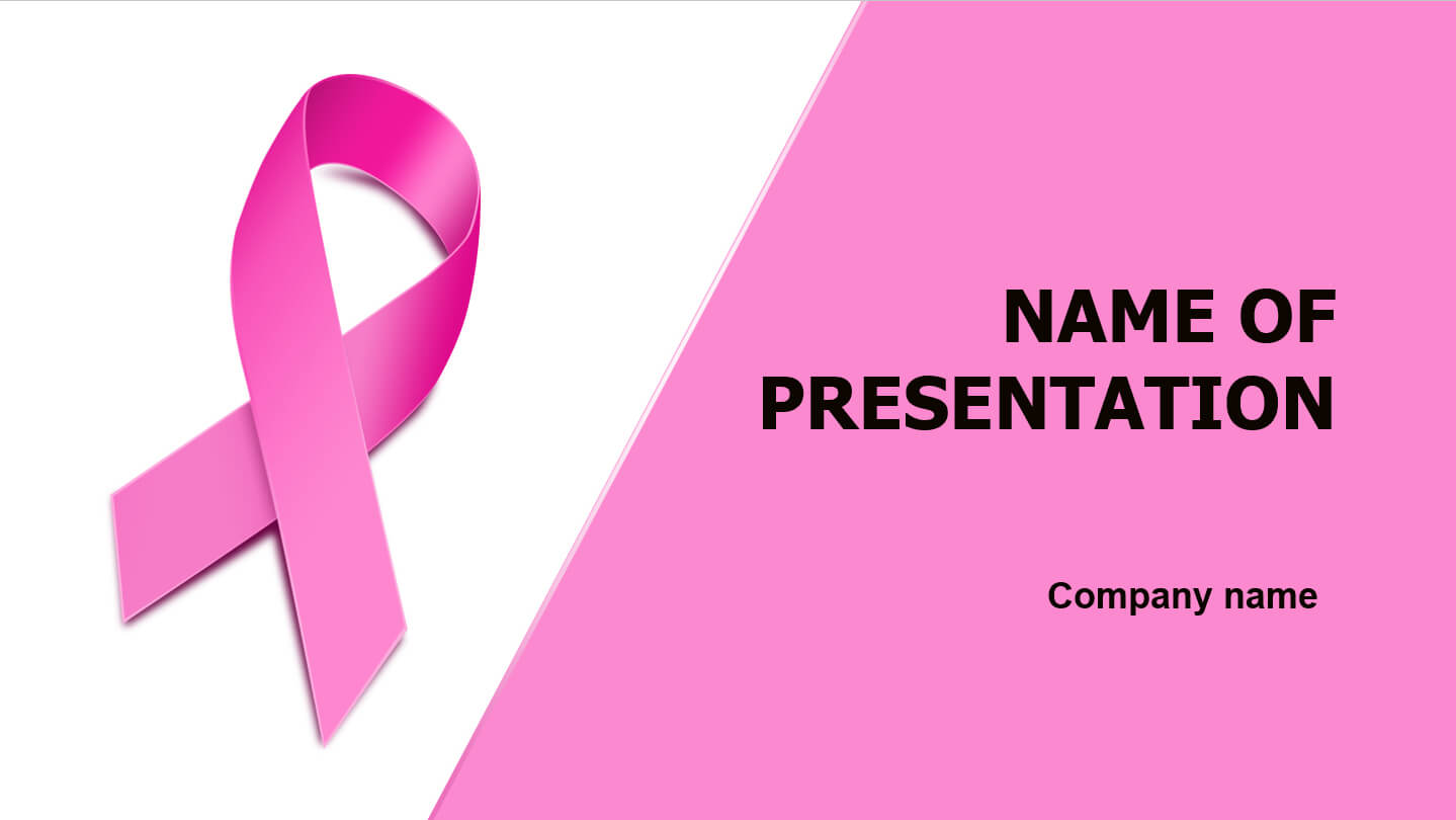 Download Free Breast Cancer Powerpoint Template And Theme Regarding Free Breast Cancer Powerpoint Templates