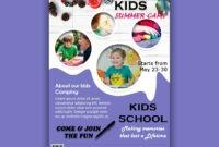 Download Free Flyer Templates | Summer Camps For Kids, Flyer inside Summer Camp Brochure Template Free Download