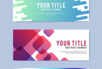 Download Free Modern Business Banner Templates At Rawpixel inside Website Banner Design Templates