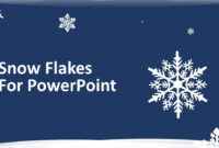 Download Free Snowflakes For Powerpoint | Download Free for Snow Powerpoint Template