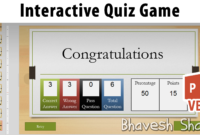 Download Powerpoint Template – Quiz Game With Points inside Powerpoint Quiz Template Free Download