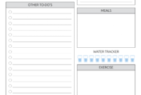 Download Printable Daily Plan With To-Do List & Important throughout Blank To Do List Template