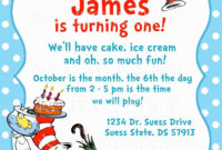 Dr Seuss Birthday Invitations Printable | Dr Seuss for Dr Seuss Birthday Card Template