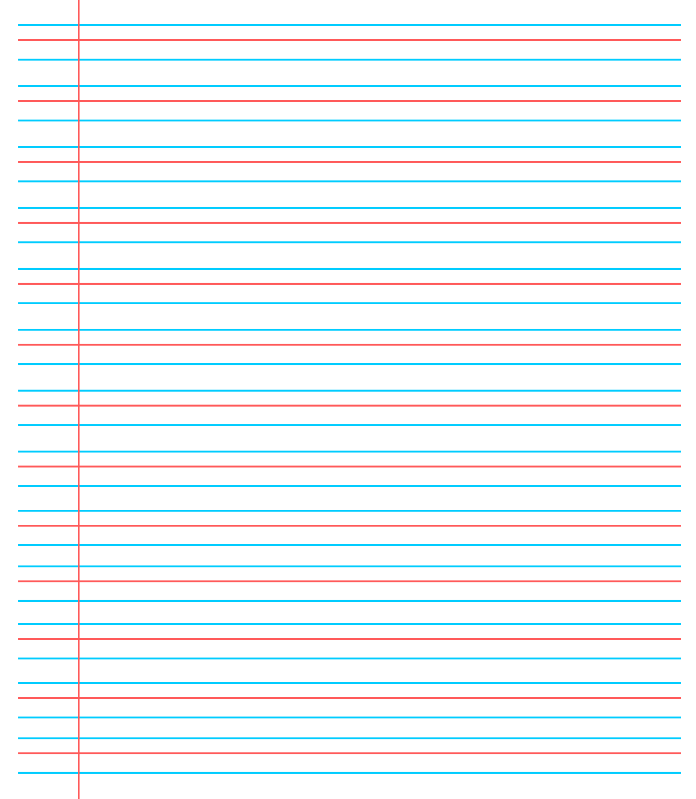 ❤️20+ Free Printable Blank Lined Paper Template In Pdf❤️ Pertaining To Microsoft Word Lined Paper Template